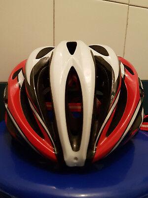 casco Corsa MTB mountainbike Uvex FP1 pearl/red/black