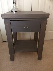 Night stands $100/ea stained white oak colour