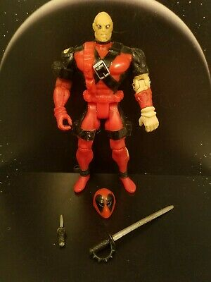 Vintage 1995 Toy Biz X-Men X-Force Marvel Comics DEADPOOL Action Figure