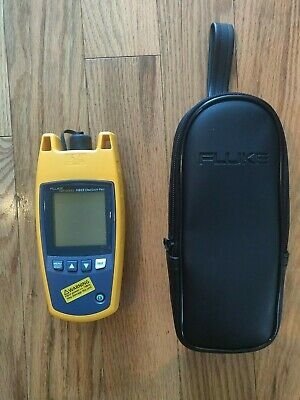 Fluke Networks Fiber Oneshot Pro Sm Fiber Troubleshooter One Shot New Never Used