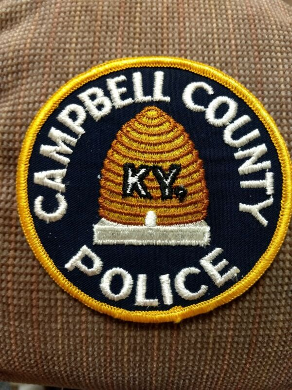 CAMPBELL COUNTY KENTUCKY POLICE PATCH - NEW
