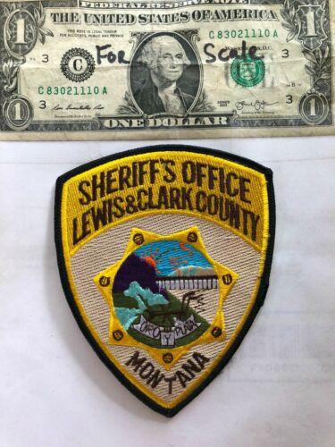 Lewis & Clark County Montana Police Patch (Sheriff