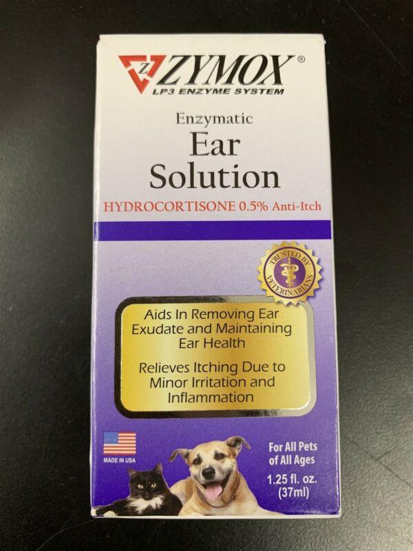 Zymox Enzymatic Ear Solution 1.25fl oz exp2023 #1252