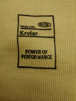 1 Pair Of Protective Sleeve Yellow Cut Resistant 18 Made With Dupont Kevlar