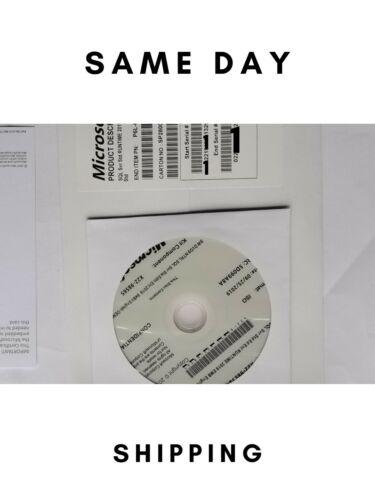 Brand New Sealed, SQL Server 2019 Standard 16 Core License Key DVD & COA