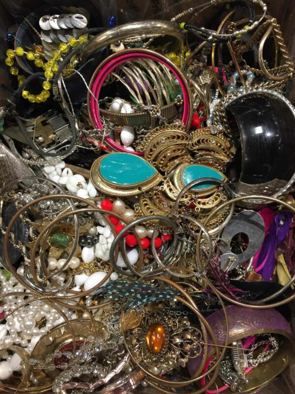 11lbs JEWELRY SCRAP MAKER CRAFT PROJECT WHOLESALE BEADING DIY
