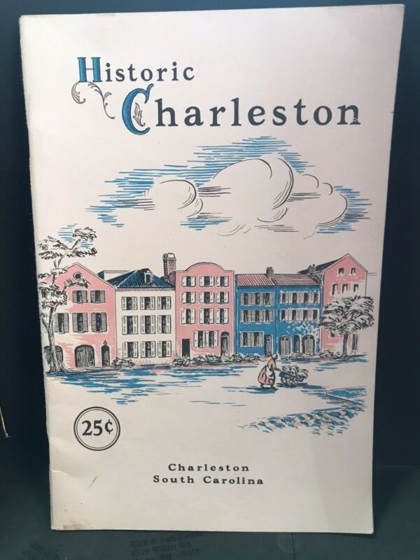Vintage Charleston South Carolina Visitor Guide