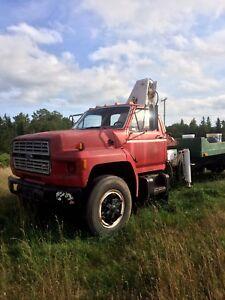 Ford Boom Truck
