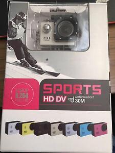 Sports Full HD DV 1080P Sports Video Camera Kit - 30m Water Sandy Bay Hobart City Preview