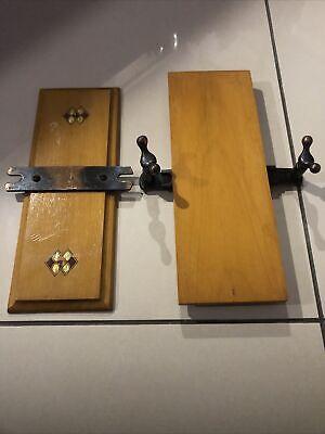 Vintage Wooden Flower Press / Tie Press.
