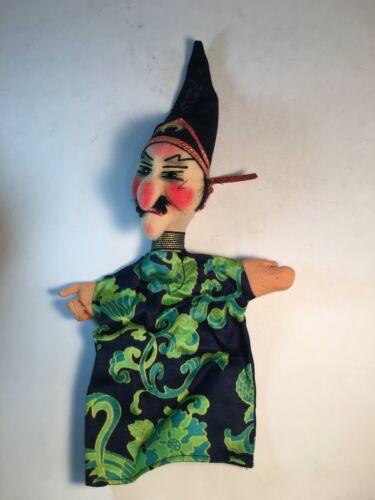 Kersa hand puppet, Evil Magician/Wizard, 1970
