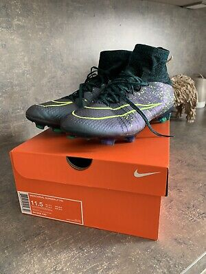 Nike Mercurial Superfly FG Blue/yellow Size 10.5.