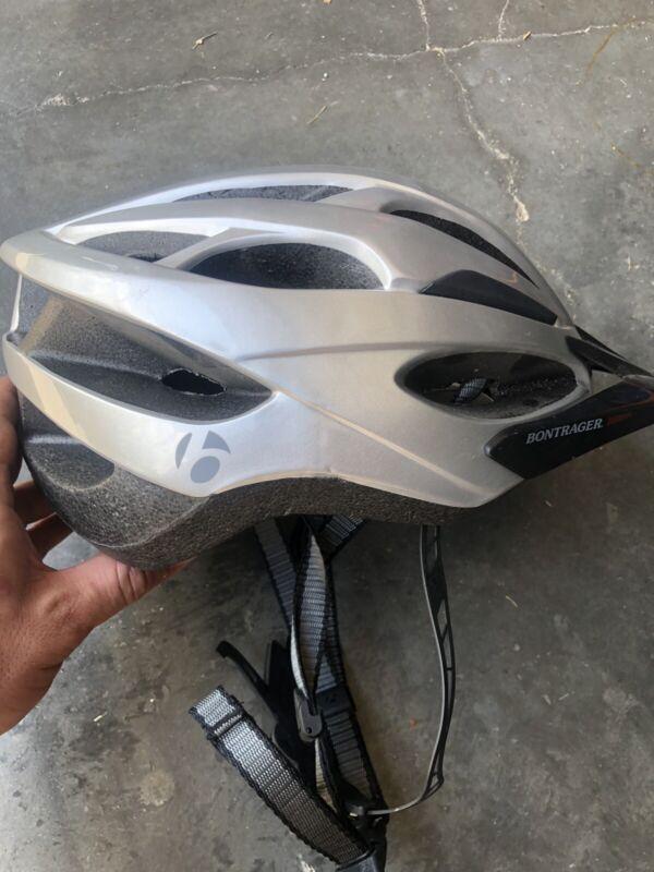 Bontrager Solstice Size 55-61cm Silver Outdoor Sport Bike Helmet 420236