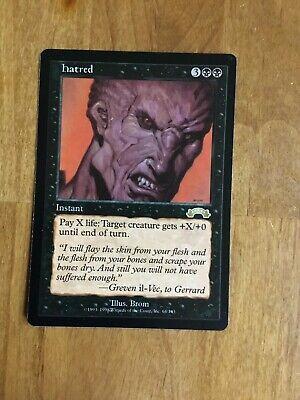 MTG Exodus * Hatred * x1  M-/NM+   Pack Fresh, Never Played