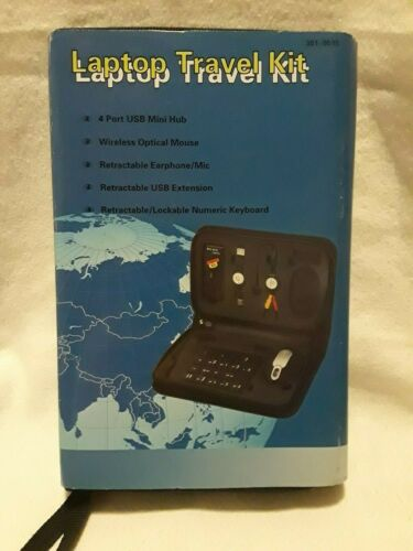 New Universal Laptop Travel Kit Universal USB Hookups