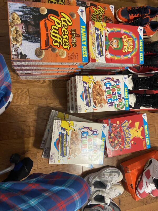 Travis Scott X Reeses Puffs Cereal X Lil Boat