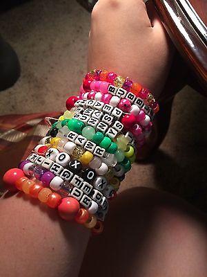 10 Single Kandi Random Rave Bracelets for Music Festivals