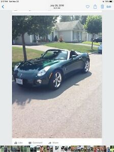 Convertible Pontiac Solstice 2008 turbo for sale