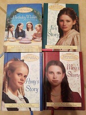 Portraits Of Little Women (Portraits of Little Women Set of 4 hardcover books Jo, Meg, Amy Susan Peffer)