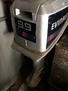 9.9 hp evenrude outboard