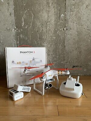 DJI Phantom 3 Proficient Drone | Extra Batteries and Accessories
