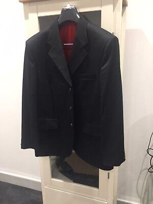 Black Men's Suit Jacket Only - Large Size
