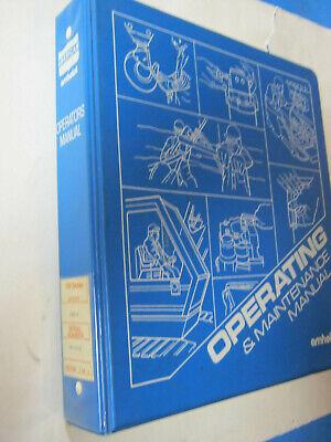 American Crane Amhoist 700 7260 C Operation Maintenance Manual Oem