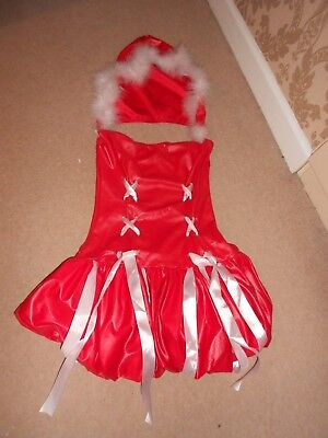 Last Minute Sexy Mrs Claus Outfit Size 8/10 Worn Once Immaculate Condition