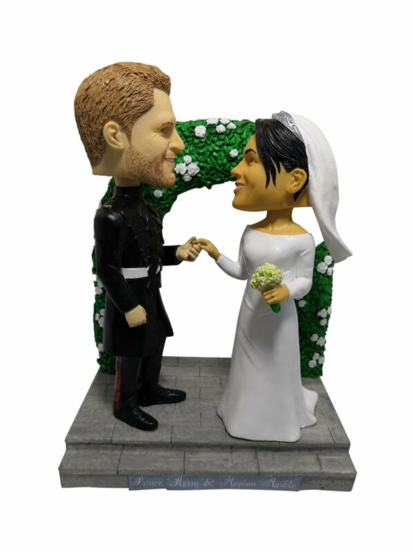 Royal Wedding 2018 Prince Harry and Meghan Markle Bobblehead Limited Edition
