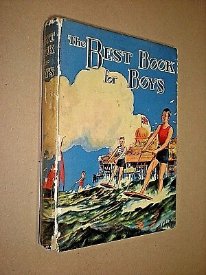THE BEST BOOK FOR BOYS. circa 1930. SMALL ANNUAL. BOYS (Best Bible For Boys)