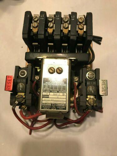 SCHNEIDER ELECTRIC NEMA 0 MOTOR STARTER BA0-2 SERIES A 4253-S9
