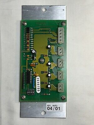 Whelen Edge 9000 Light Bar Programmable Flasher Mother Board 01-0268387-00 F