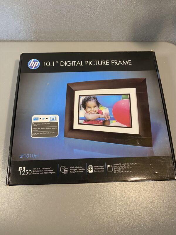 "HP HPDF1010P1 10.1"" Digital Picture Frame - NEW"