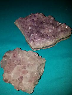 Crystals rock crystal