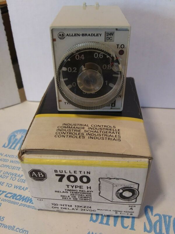 Allen-Bradley 700-HTM12KZ24 Timing Relay