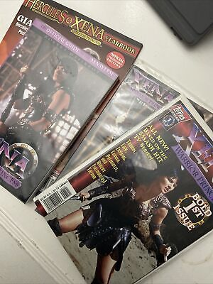 Xena Warrior Princess #1;1st Appearance Collection tpb; Official Guide Xenaverse