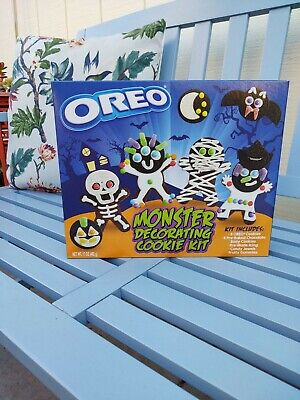 Oreo Monster Decorating Cookie Kit Create Your Own Halloween Wars At Home