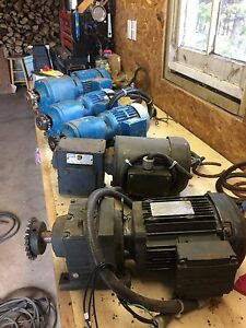 Electric Motor/Gear Box's For Sale