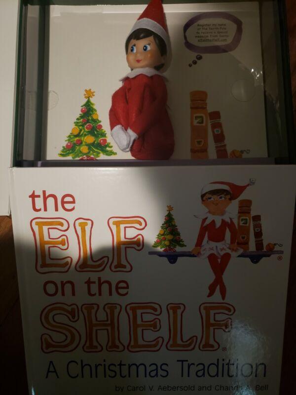 The Elf on the Shelf Christmas Girl Doll and Book no box!!!!
