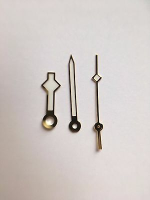 Gold Snowflake Hands   Luminous  For Seiko Mod Parts Custom