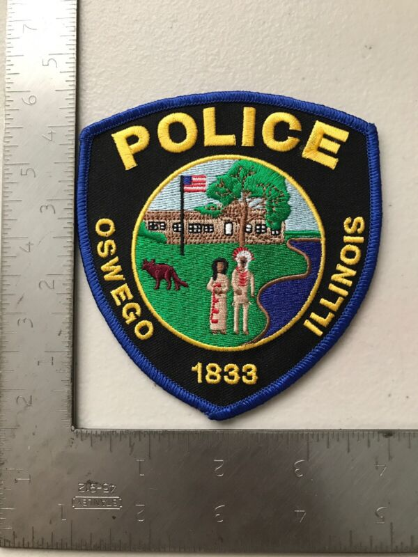 Oswego Illinois Police Department Patch Il