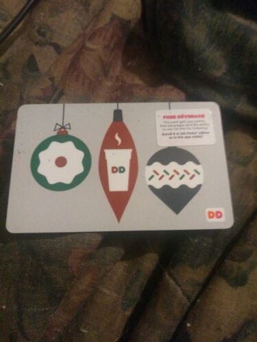 Dunkin Donuts Used Collectible Gift Card No Value FD52527 - $1.88