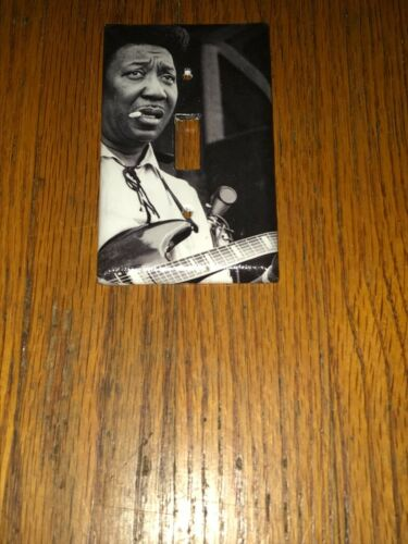 MUDDY WATERS BLUES ROCK LEGEND Light Switch Cover Plate A