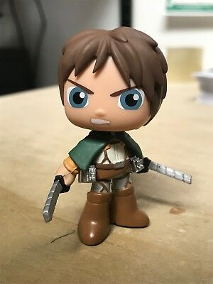 FUNKO EREN YEAGER ATTACK ON TITAN BEST OF ANIME SERIES 1 MYSTERY MINI (Best Beyblade Attack Beyblades)