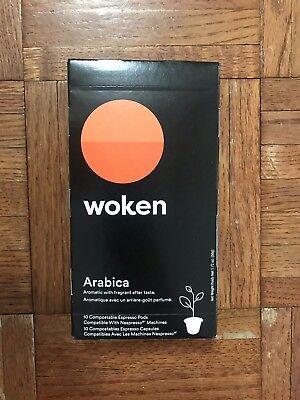 Nespresso Compatible Capsules Arabica, Compostable - 10 Arabica Espresso Pods by