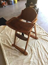 Timber high chair Windella Maitland Area Preview