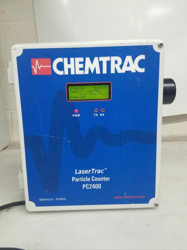 CHEMTRAC LASER TRAC PC2400 PARTICLE COUNTER