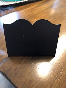 Chalk board place settings