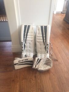 Ccm goalie set