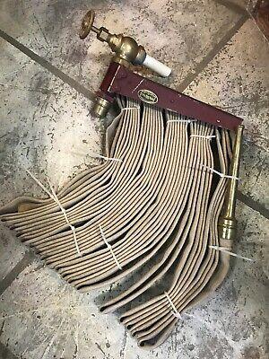 Fire Hose Royal Hose Rack Brass Nozzle